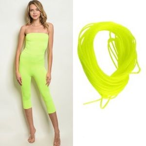 Neon Lime Bodysuit